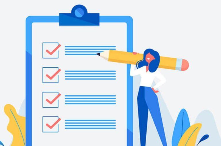 Checklist para a criação de site