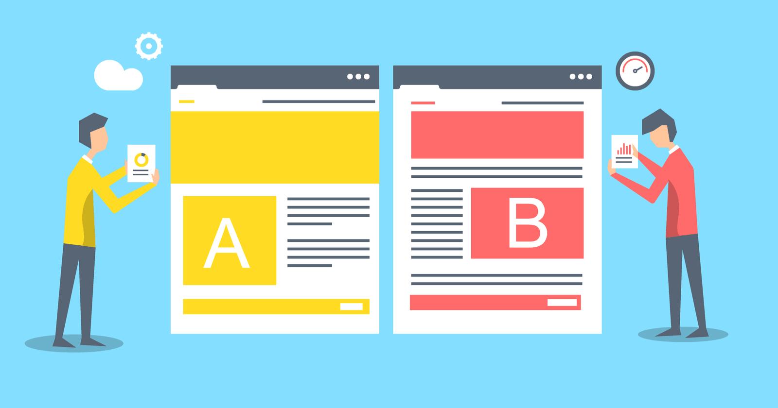 O que são os Testes A/B