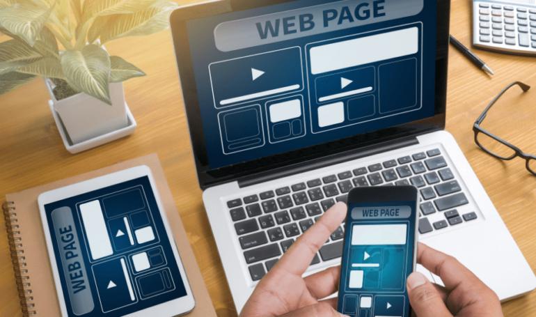 Sites mobile e responsivo
