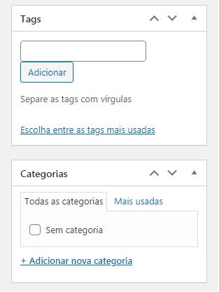 Blog em WordPress